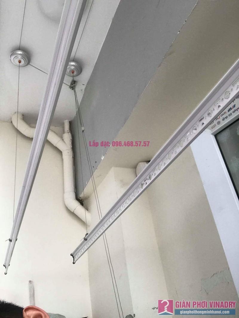 Thay dây giàn phơi thông minh nhà anh Đại, chung cư viện 103 Văn Quán, Thanh Trì, Hà Nội - 06