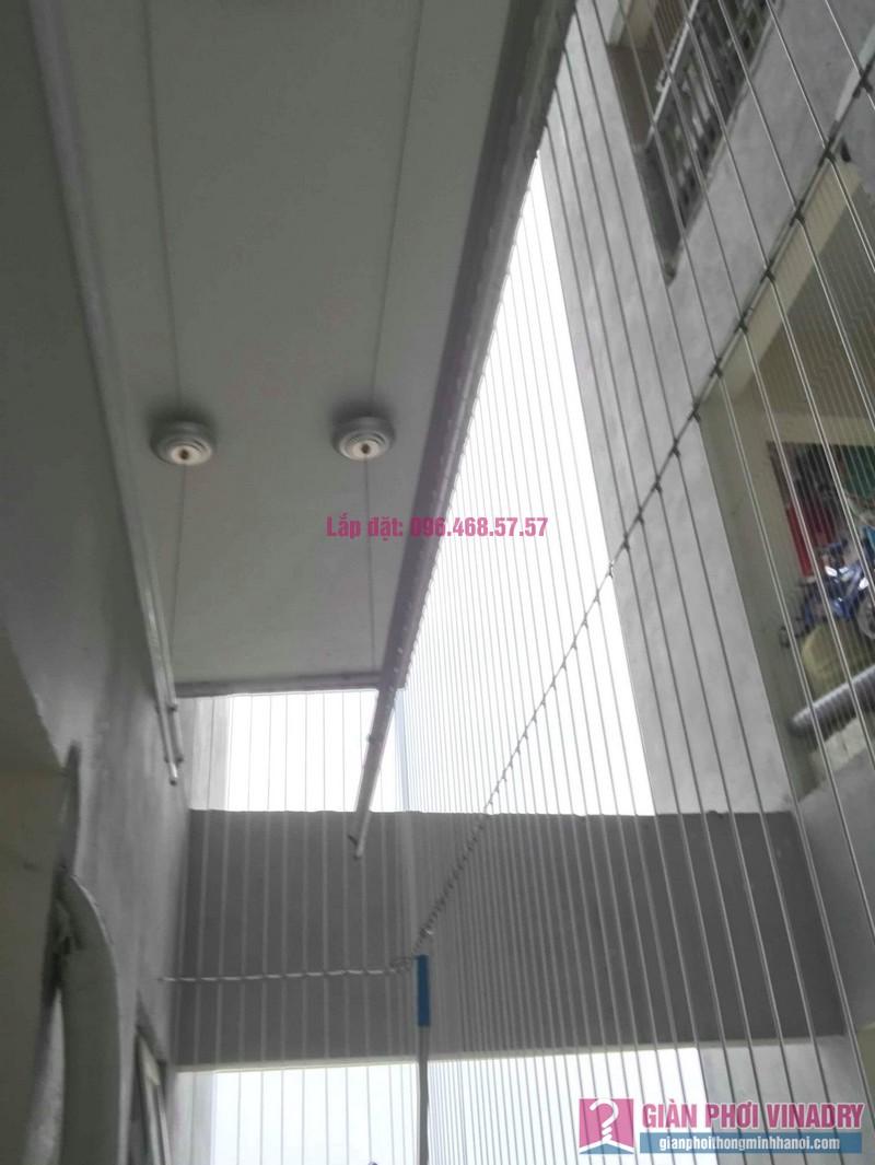 Thay dây giàn phơi thông minh nhà anh Đại, chung cư viện 103 Văn Quán, Thanh Trì, Hà Nội - 07