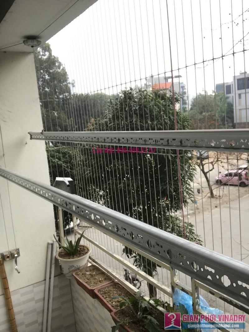 Sửa giàn phơi thông minh nhà chị Mùi, chung cư VP6 Linh Đàm, Hoàng Mai, Hà Nội - 01