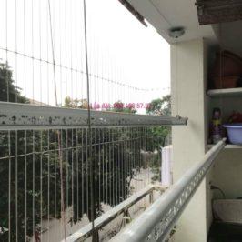 Sửa giàn phơi thông minh nhà chị Mùi, chung cư VP6 Linh Đàm, Hoàng Mai, Hà Nội