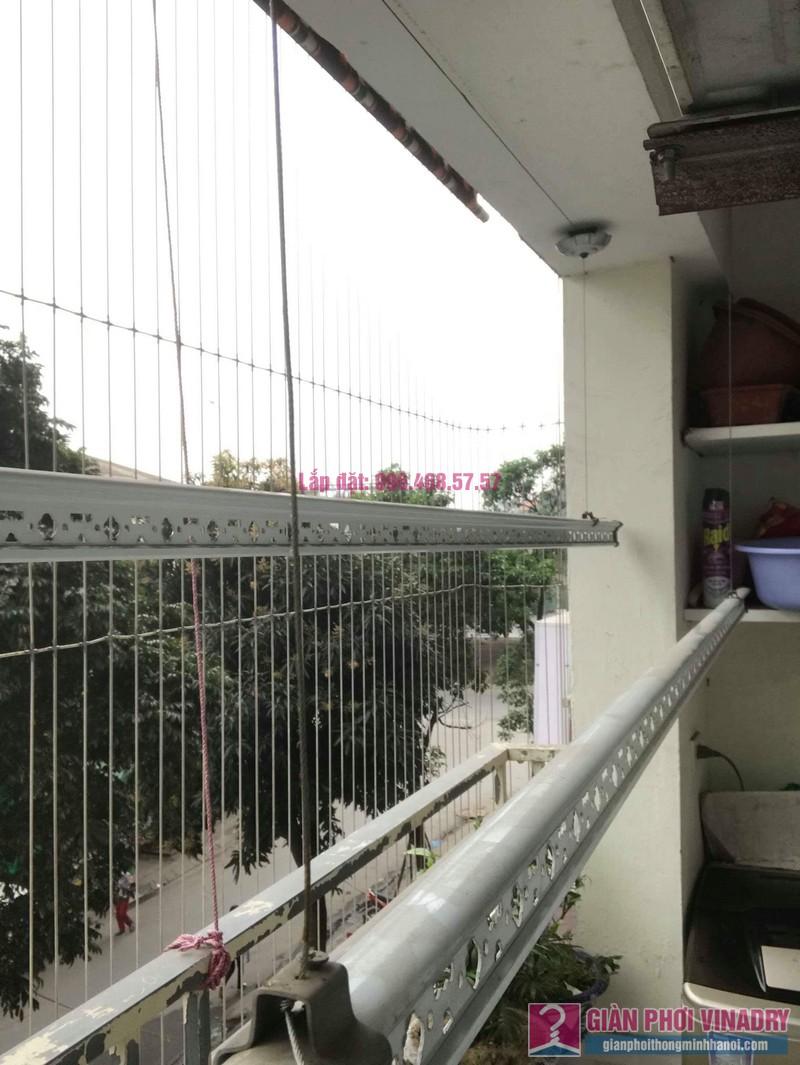 Sửa giàn phơi thông minh nhà chị Mùi, chung cư VP6 Linh Đàm, Hoàng Mai, Hà Nội - 03