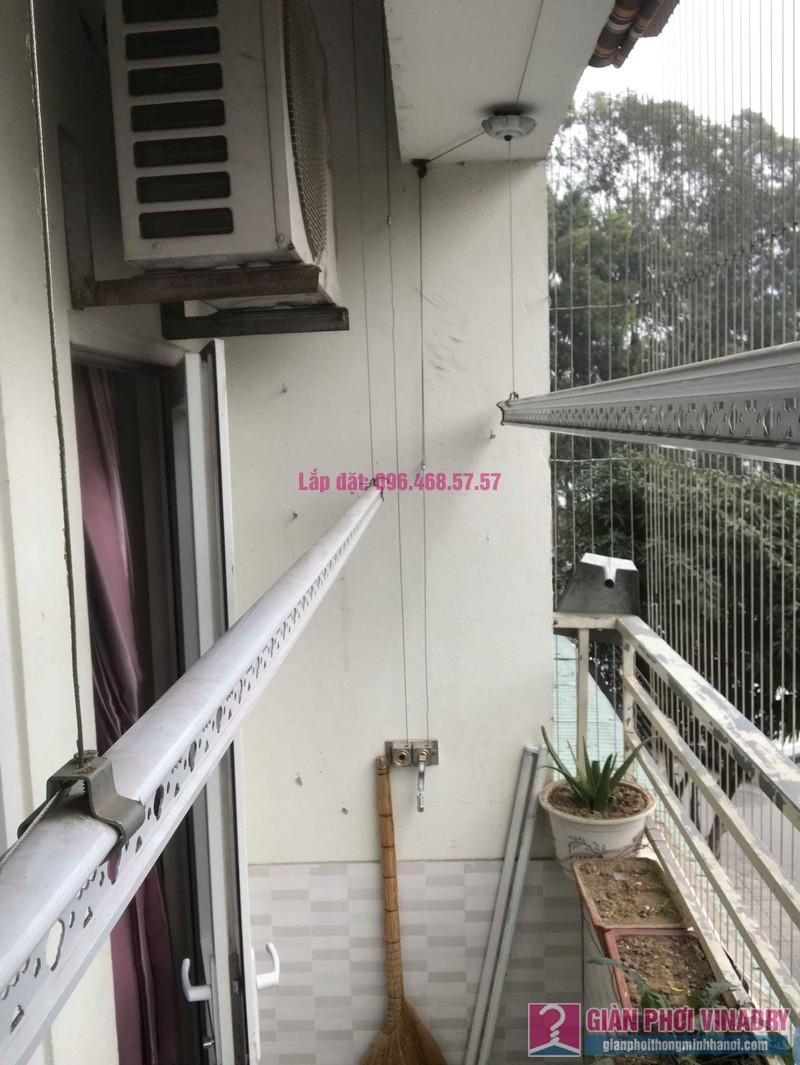 Sửa giàn phơi thông minh nhà chị Mùi, chung cư VP6 Linh Đàm, Hoàng Mai, Hà Nội - 05
