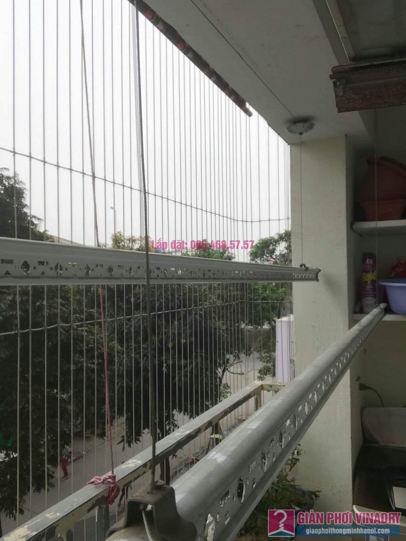 Sửa giàn phơi thông minh nhà chị Mùi, chung cư VP6 Linh Đàm, Hoàng Mai, Hà Nội - 06