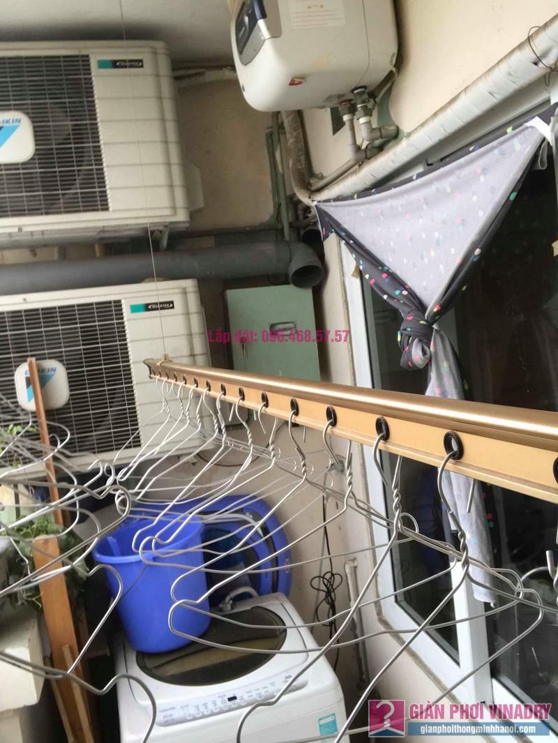 Sửa giàn phơi quần áo nhà chị Hảo, KĐT Ciputra, Nam Thăng Long Hà Nội - 02