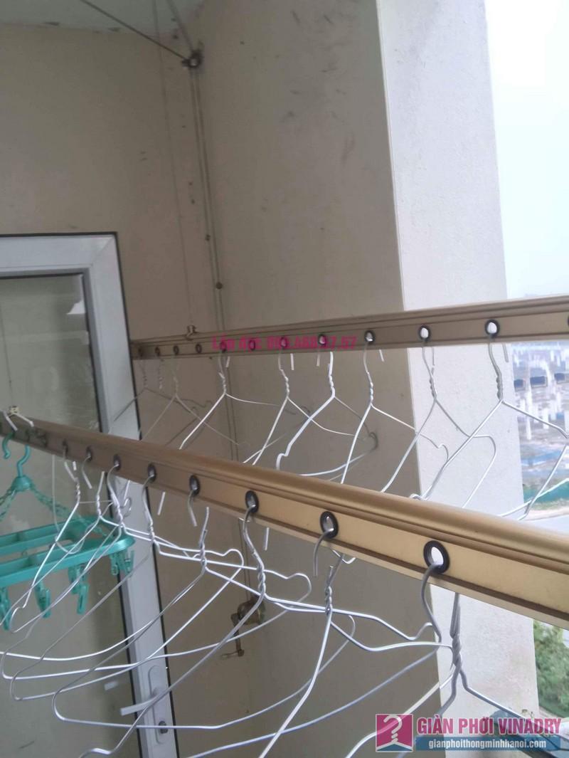 Sửa giàn phơi quần áo nhà chị Hảo, KĐT Ciputra, Nam Thăng Long Hà Nội - 05