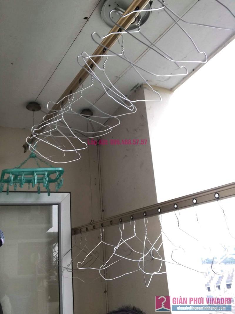 Sửa giàn phơi quần áo nhà chị Hảo, KĐT Ciputra, Nam Thăng Long Hà Nội - 08