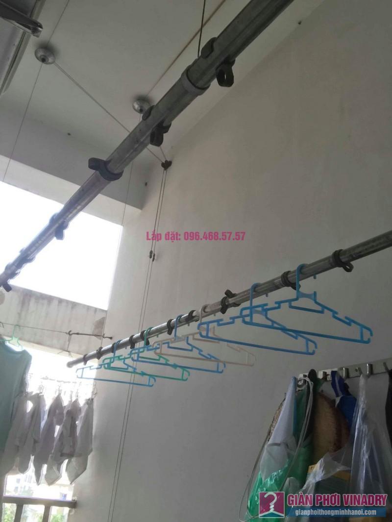 Sửa giàn phơi thông minh Hoàng Mai nhà chị Yến, chung cư Nơ 7, KĐT Pháp Vân - 04