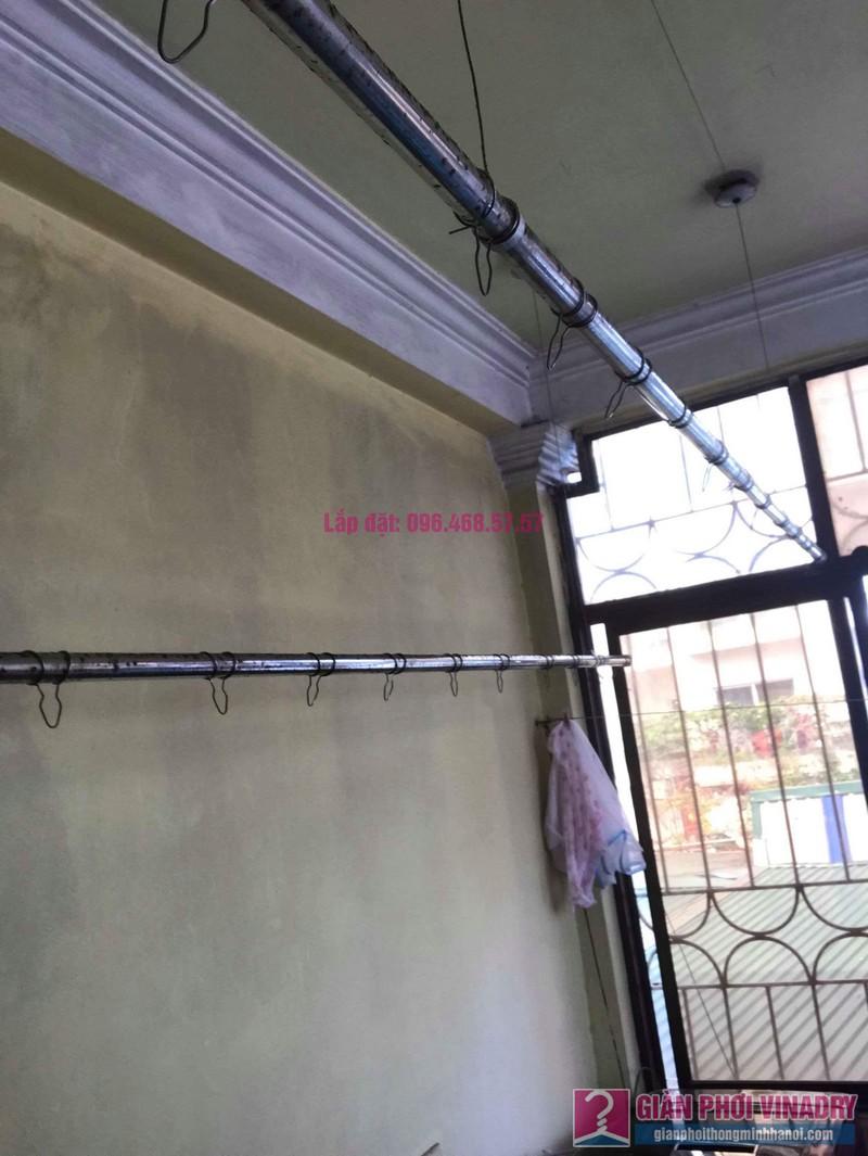 Thay dây cáp giàn phơi thông minh nhà chị Hiền, 40A, Ngõ 125 Thụy Khuê, Tây Hồ, Hà Nội - 02