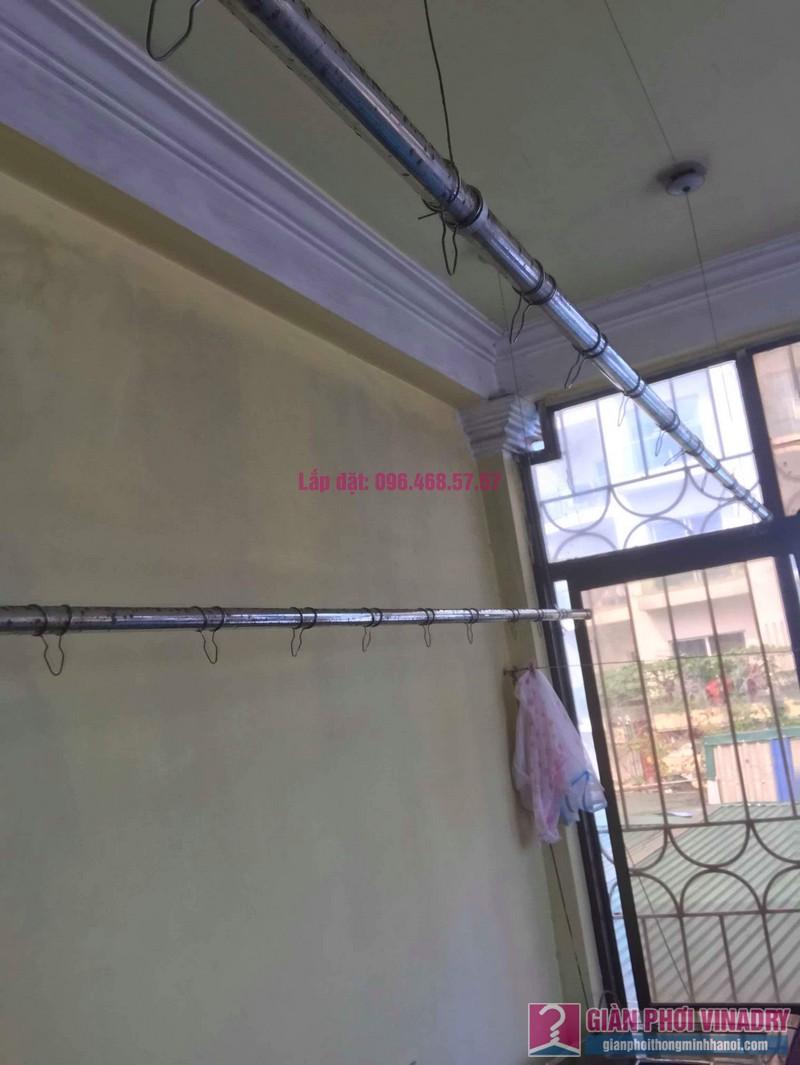 Thay dây cáp giàn phơi thông minh nhà chị Hiền, 40A, Ngõ 125 Thụy Khuê, Tây Hồ, Hà Nội - 03