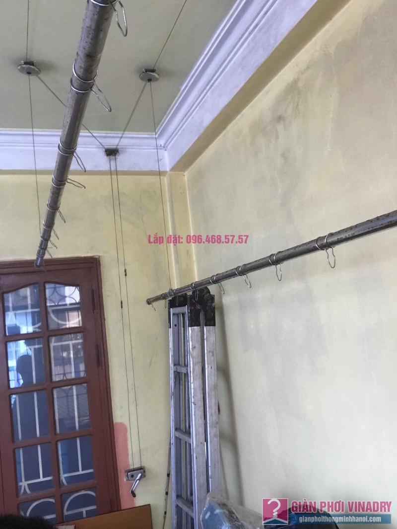 Thay dây cáp giàn phơi thông minh nhà chị Hiền, 40A, Ngõ 125 Thụy Khuê, Tây Hồ, Hà Nội - 04