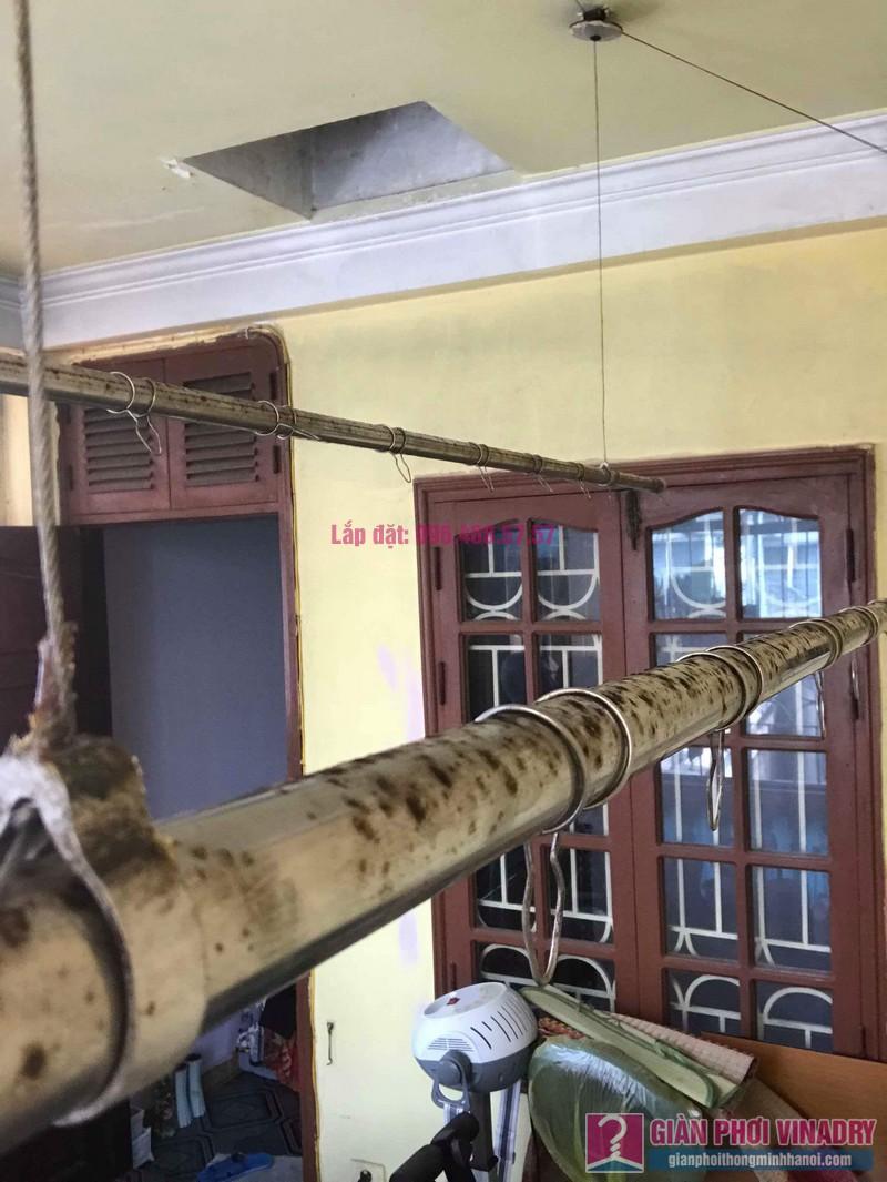 Thay dây cáp giàn phơi thông minh nhà chị Hiền, 40A, Ngõ 125 Thụy Khuê, Tây Hồ, Hà Nội - 05