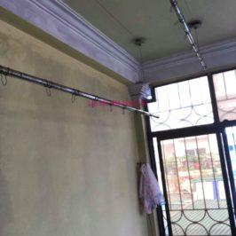 Thay dây cáp giàn phơi thông minh nhà chị Hiền, 40A, Ngõ 125 Thụy Khuê, Tây Hồ, Hà Nội