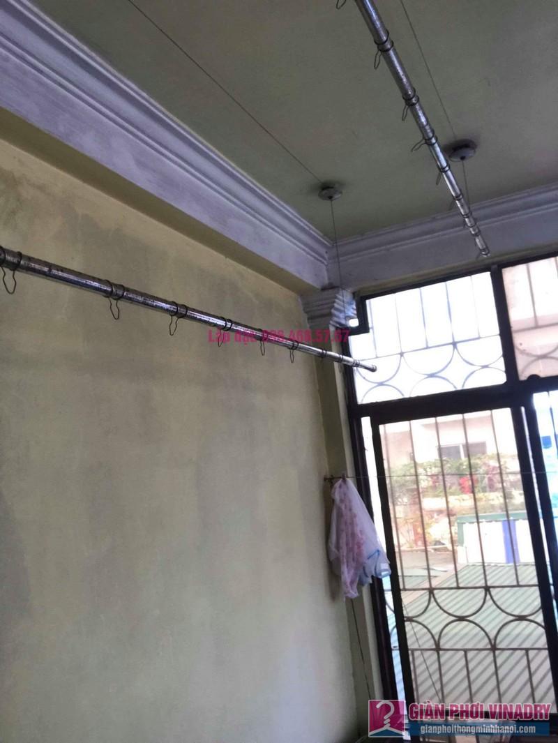 Thay dây cáp giàn phơi thông minh nhà chị Hiền, 40A, Ngõ 125 Thụy Khuê, Tây Hồ, Hà Nội - 08
