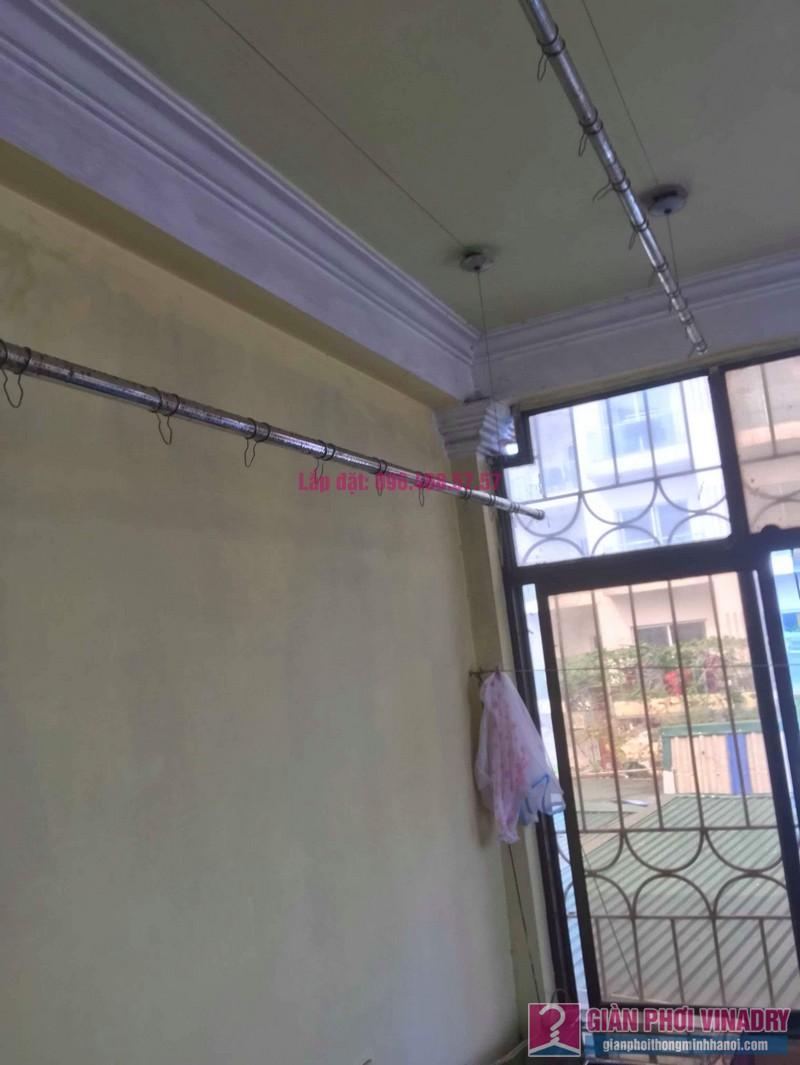 Thay dây cáp giàn phơi thông minh nhà chị Hiền, 40A, Ngõ 125 Thụy Khuê, Tây Hồ, Hà Nội - 09