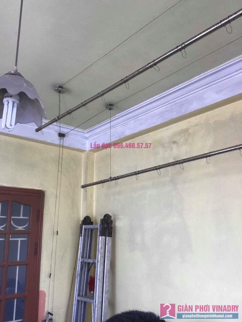 Thay dây cáp giàn phơi thông minh nhà chị Hiền, 40A, Ngõ 125 Thụy Khuê, Tây Hồ, Hà Nội - 10
