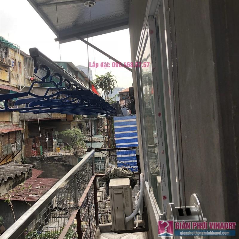 Lắp giàn phơi Ba Đình nhà cô Qúy, nhà B6B, Khu tập thể Thành Công - 08