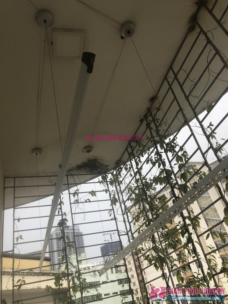 Lắp giàn phơi Cầu giấy nhà anh Hiệu, căn hộ 605 nhà N14, Ngõ 273 Trần Đăng Ninh - 01