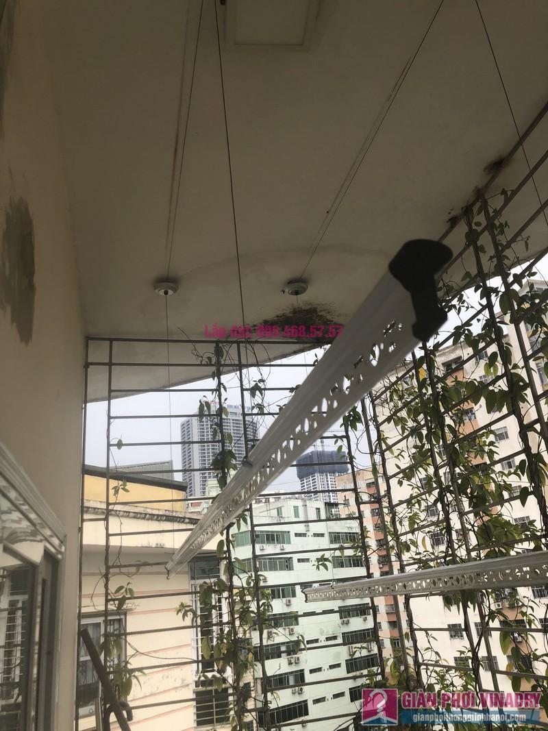 Lắp giàn phơi Cầu giấy nhà anh Hiệu, căn hộ 605 nhà N14, Ngõ 273 Trần Đăng Ninh - 02
