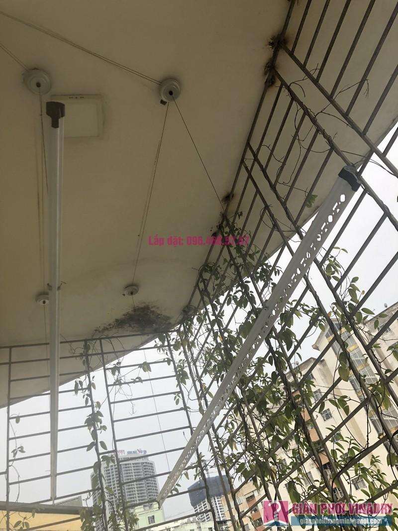 Lắp giàn phơi Cầu giấy nhà anh Hiệu, căn hộ 605 nhà N14, Ngõ 273 Trần Đăng Ninh - 03