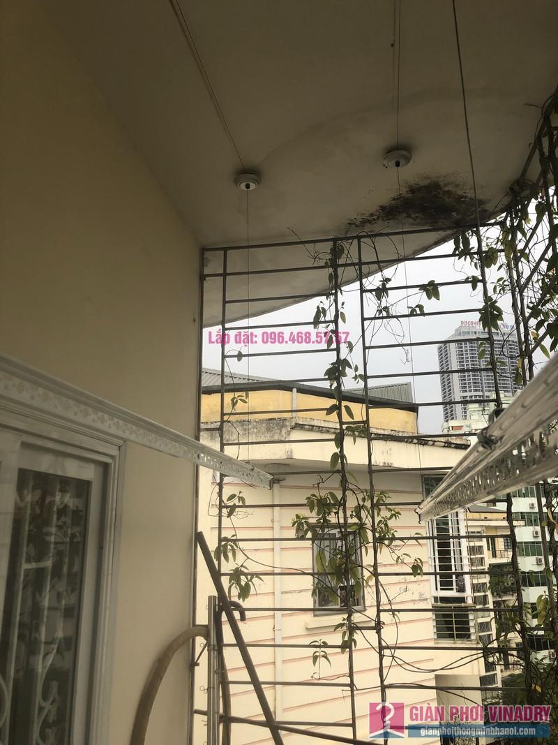 Lắp giàn phơi Cầu giấy nhà anh Hiệu, căn hộ 605 nhà N14, Ngõ 273 Trần Đăng Ninh - 04