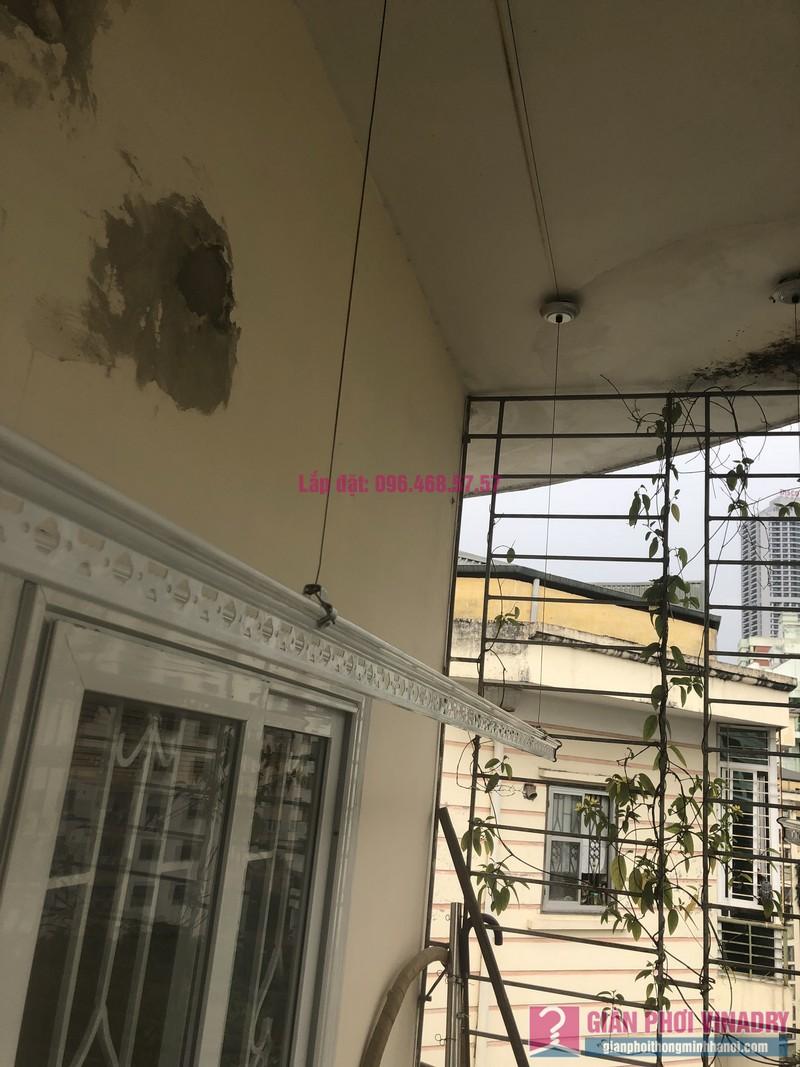 Lắp giàn phơi Cầu giấy nhà anh Hiệu, căn hộ 605 nhà N14, Ngõ 273 Trần Đăng Ninh - 05