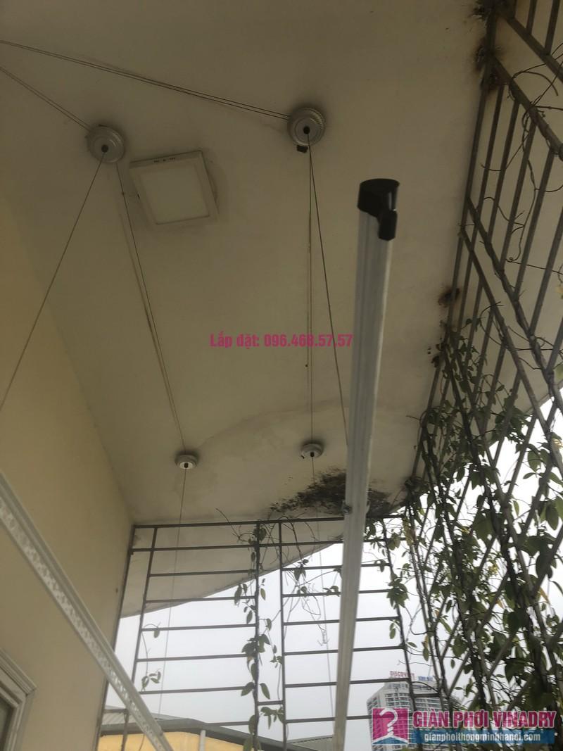 Lắp giàn phơi Cầu giấy nhà anh Hiệu, căn hộ 605 nhà N14, Ngõ 273 Trần Đăng Ninh - 08