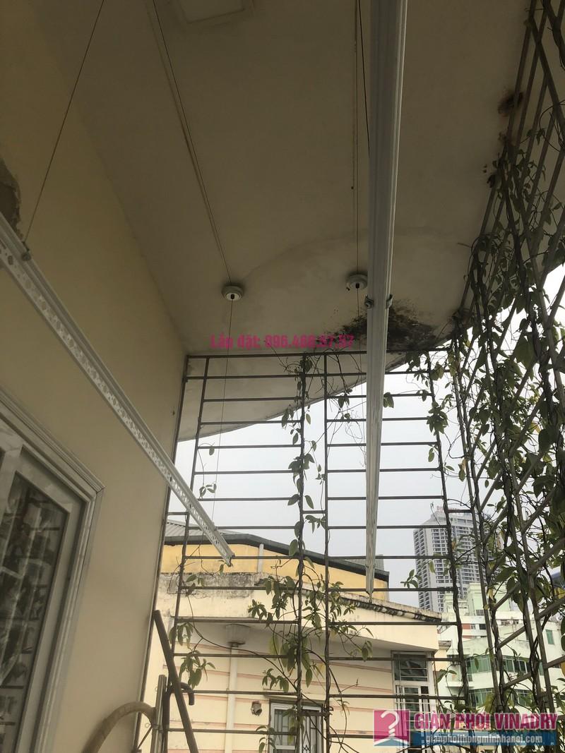Lắp giàn phơi Cầu giấy nhà anh Hiệu, căn hộ 605 nhà N14, Ngõ 273 Trần Đăng Ninh - 09