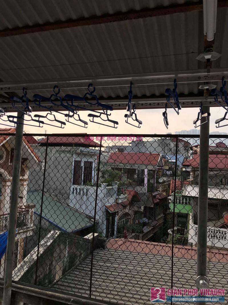 Lắp giàn phơi cho trần mái tôn nhà anh Vui, ngõ 93 Vương Thừa Vũ, Thanh Xuân, Hà Nội - 01