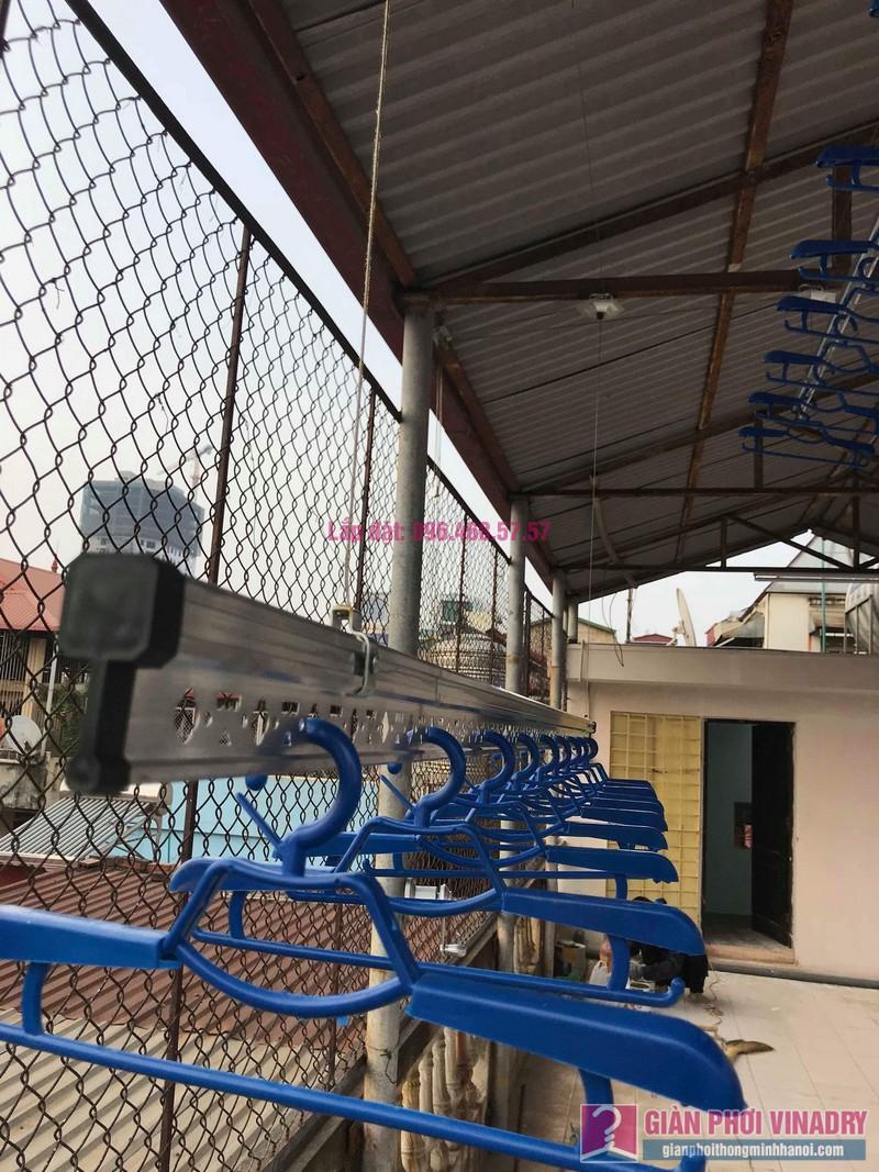 Lắp giàn phơi cho trần mái tôn nhà anh Vui, ngõ 93 Vương Thừa Vũ, Thanh Xuân, Hà Nội - 03