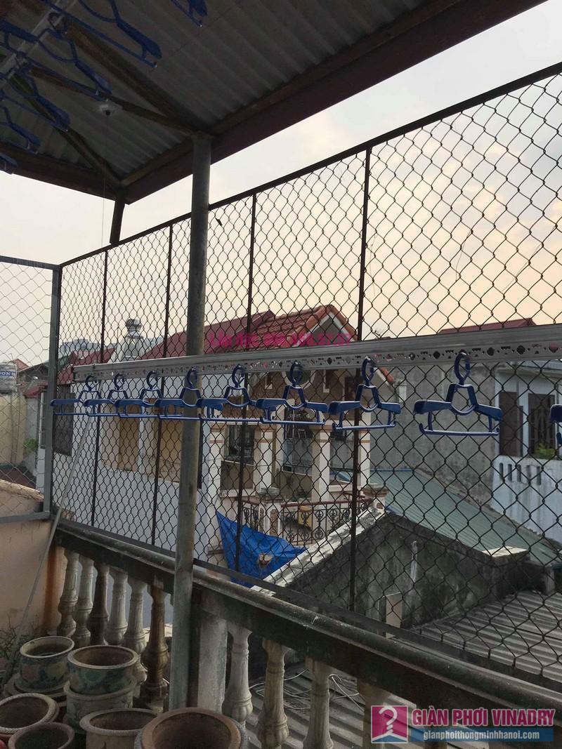 Lắp giàn phơi cho trần mái tôn nhà anh Vui, ngõ 93 Vương Thừa Vũ, Thanh Xuân, Hà Nội - 05