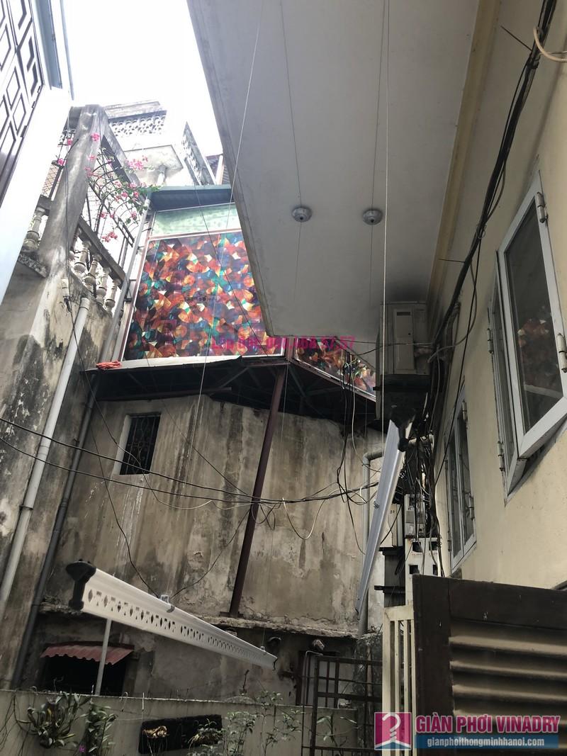 Lắp giàn phơi quần áo 999B nhà cô Nghĩa, ngõ 37 Đại La, Hai Bà Trưng, Hà Nội - 05