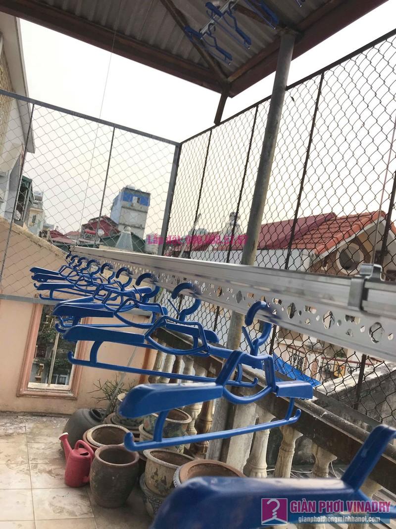Lắp giàn phơi cho trần mái tôn nhà anh Vui, ngõ 93 Vương Thừa Vũ, Thanh Xuân, Hà Nội - 07
