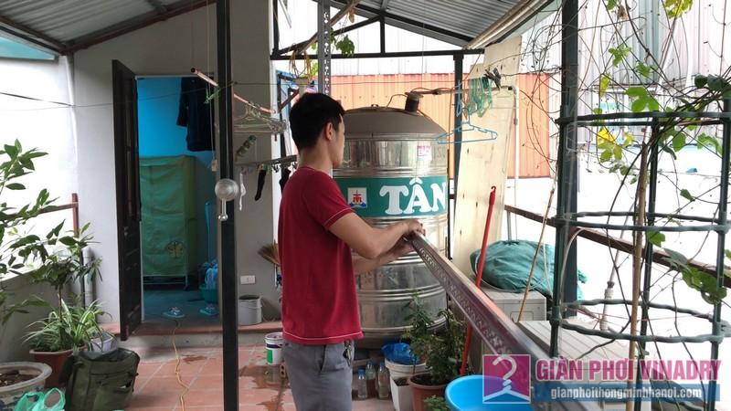 Lắp giàn phơi Hai Bà Trưng nhà anh Mạnh, số 39 Lò Đúc, Phạm Đình Hồ - 04