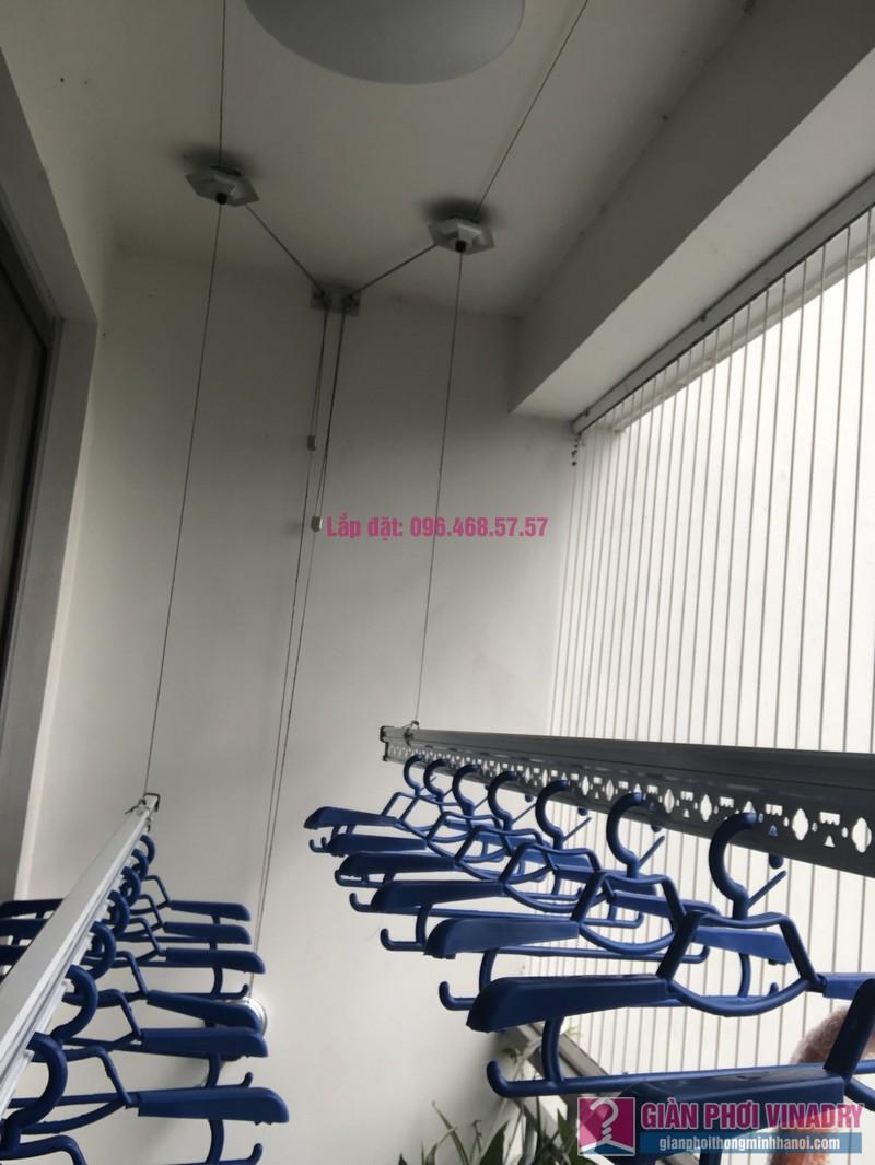 Lắp giàn phơi Hòa Phát Star 950 nhà chị Hạnh, Park 6, Park Hill Times City - 03