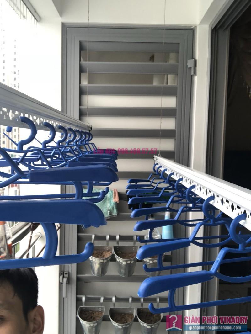 Lắp giàn phơi Hòa Phát Star 950 nhà chị Hạnh, Park 6, Park Hill Times City - 06