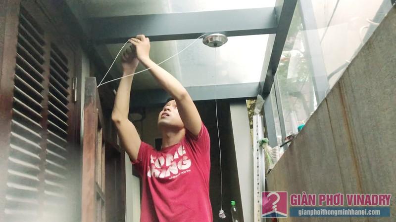 Lắp giàn phơi Tây Hồ nhà chị Ngoan, ngách 18, ngõ 50 Võng Thị - 01