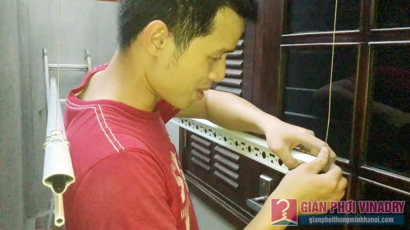 Lắp giàn phơi Tây Hồ nhà chị Ngoan, ngách 18, ngõ 50 Võng Thị - 05
