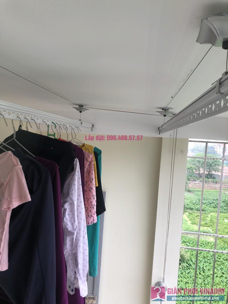Lắp giàn phơi thông minh Thanh Trì nhà chị Hảo, ngõ 70/1 Thanh Lân - 03