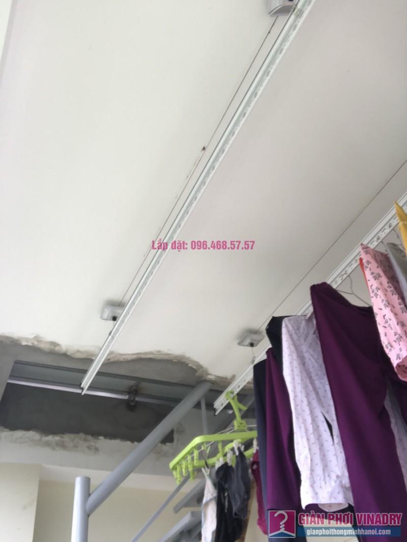 Lắp giàn phơi thông minh Thanh Trì nhà chị Hảo, ngõ 70/1 Thanh Lân - 08