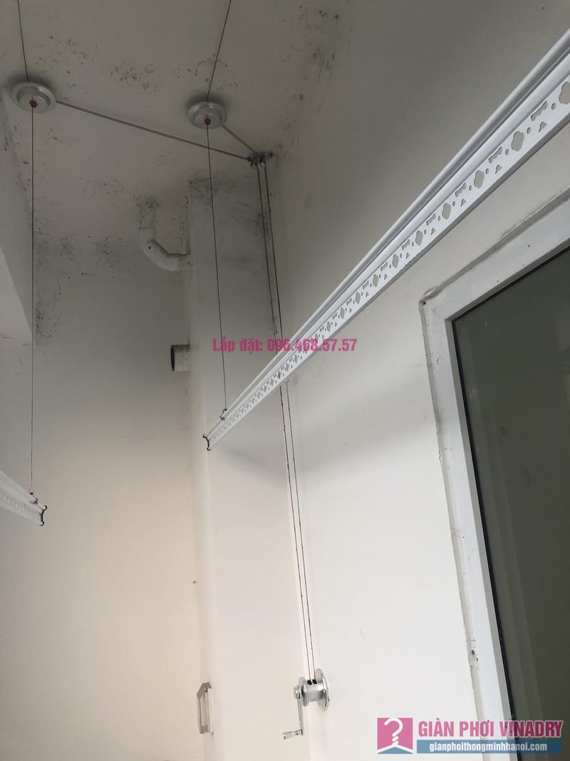 Lắp giàn phơi thông minh nhà cô Tuệ, chung cư Gemek Tower, Hoài Đức, Hà Nội - 02