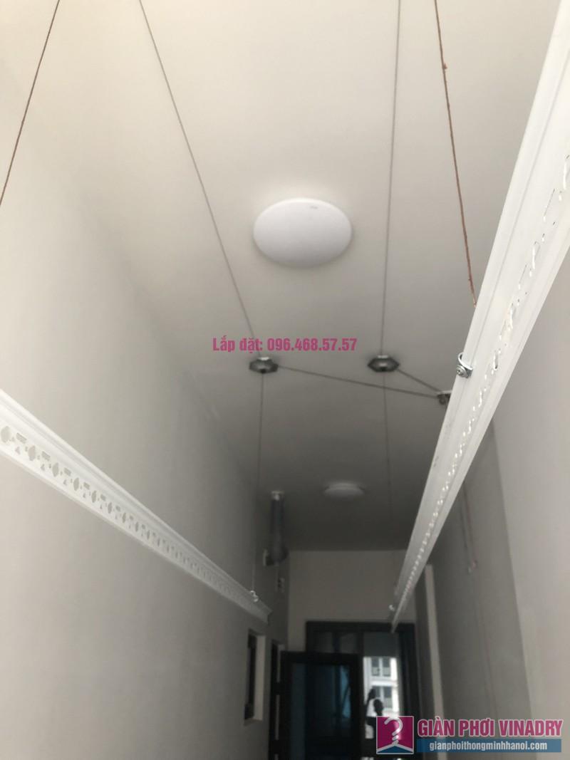 Lắp giàn phơi thông minh nhà anh Nghị, tòa S4, Goldmark City, Phú Diễn, Bắc Từ Liêm, Hà Nội - 01