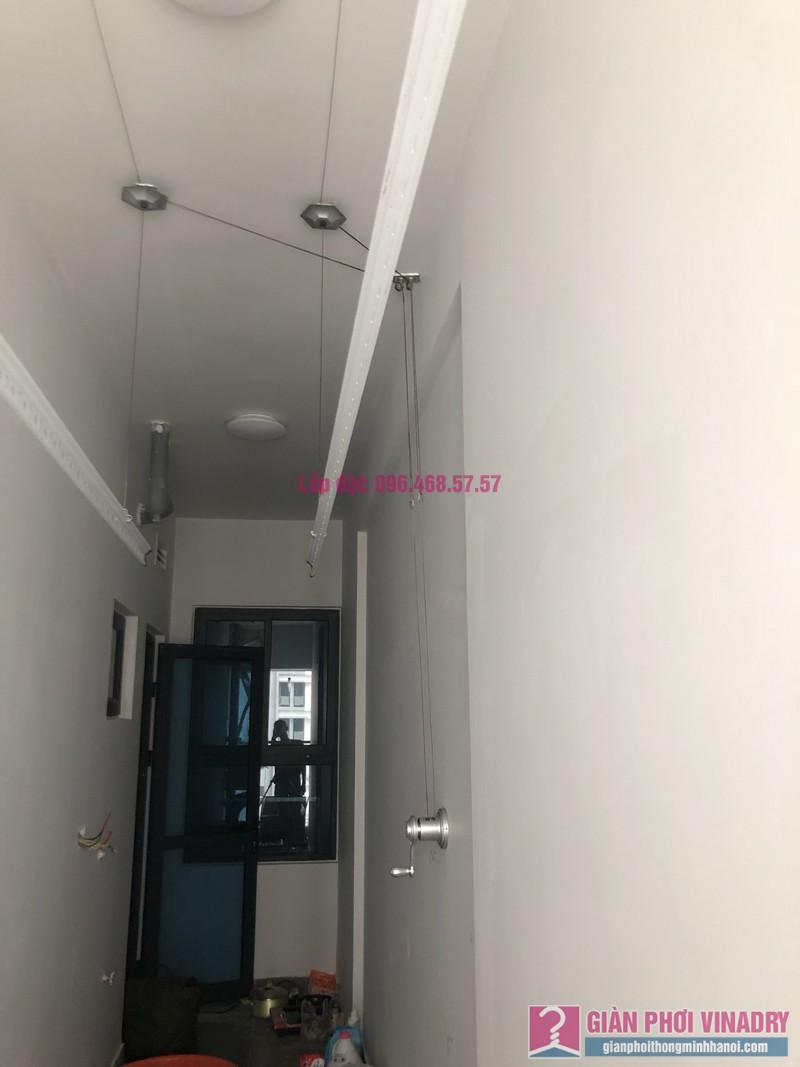 Lắp giàn phơi thông minh nhà anh Nghị, tòa S4, Goldmark City, Phú Diễn, Bắc Từ Liêm, Hà Nội - 03