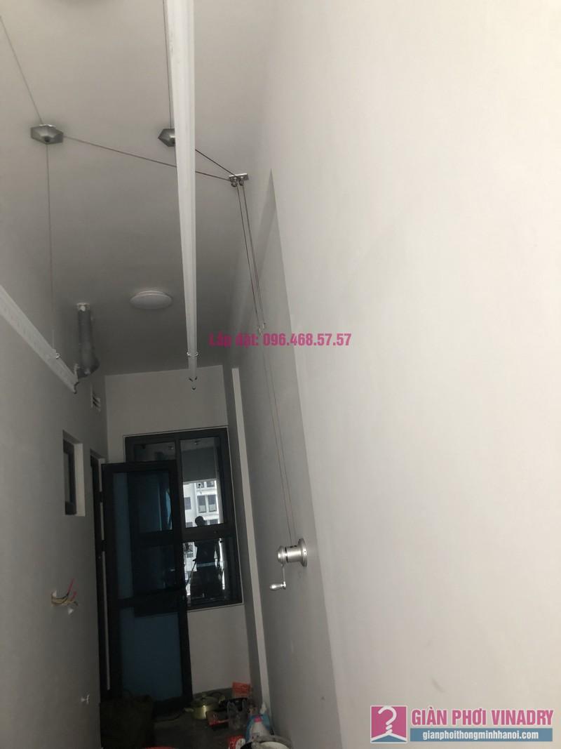 Lắp giàn phơi thông minh nhà anh Nghị, tòa S4, Goldmark City, Phú Diễn, Bắc Từ Liêm, Hà Nội - 05