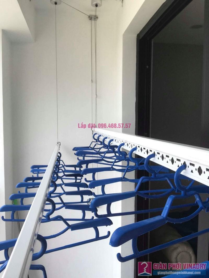 Lắp giàn phơi thông minh nhập khẩu nhà chị Thanh, Tòa T6, Times City - 02