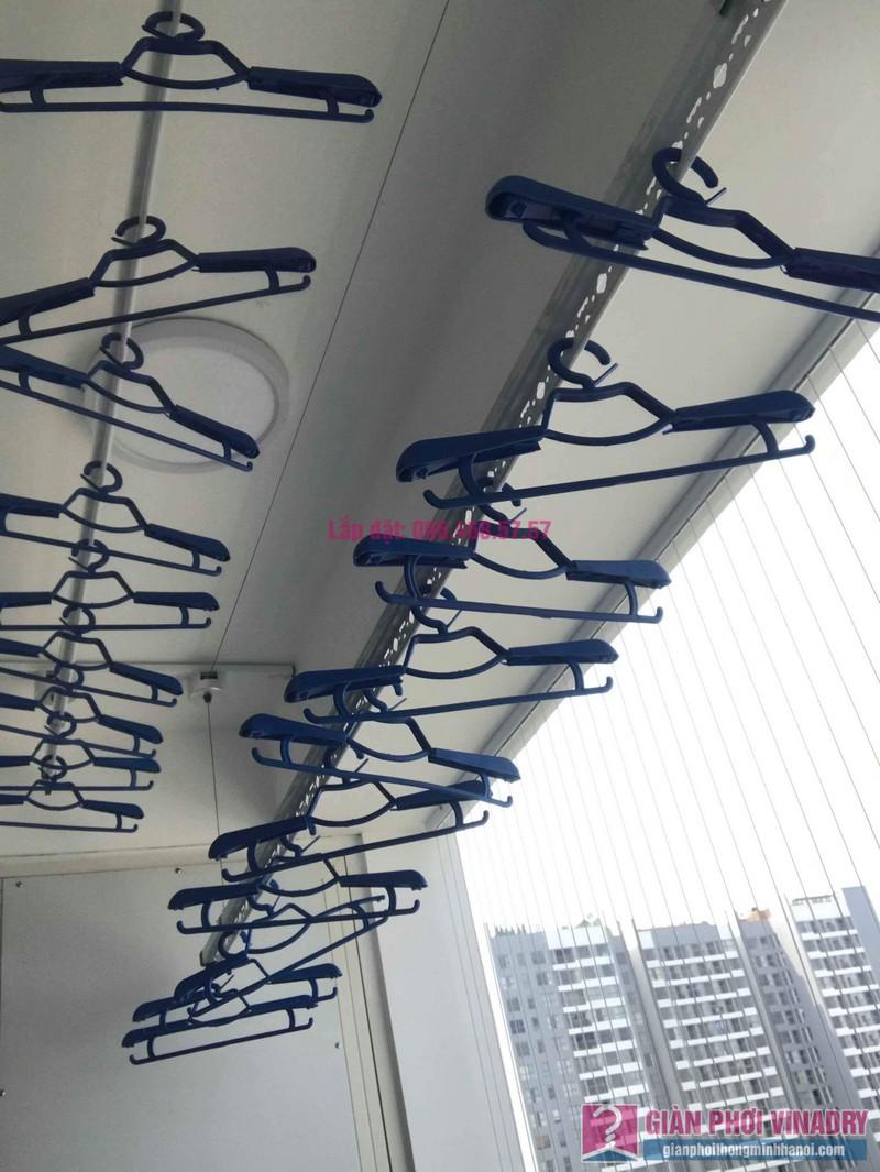 Lắp giàn phơi thông minh nhập khẩu nhà chị Thanh, Tòa T6, Times City - 05