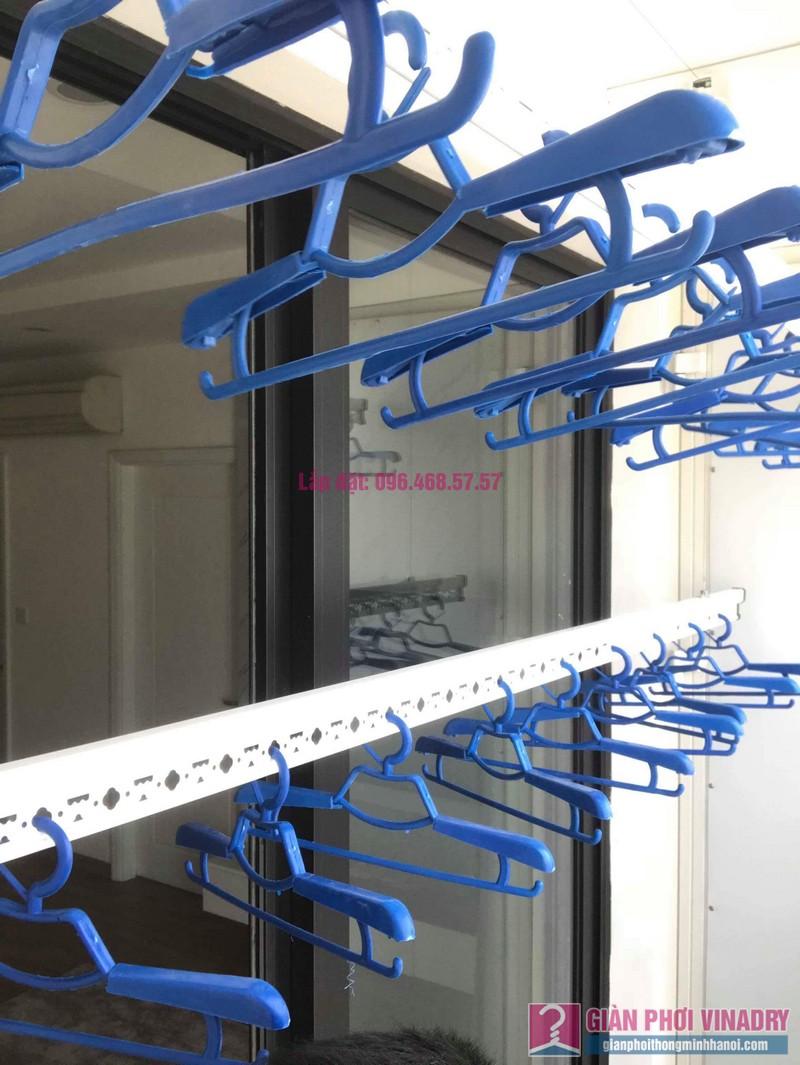 Lắp giàn phơi thông minh nhập khẩu nhà chị Thanh, Tòa T6, Times City - 06