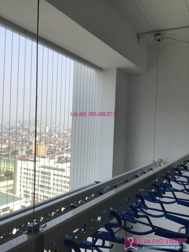 Lắp giàn phơi thông minh nhập khẩu nhà chị Thanh, Tòa T6, Times City - 07
