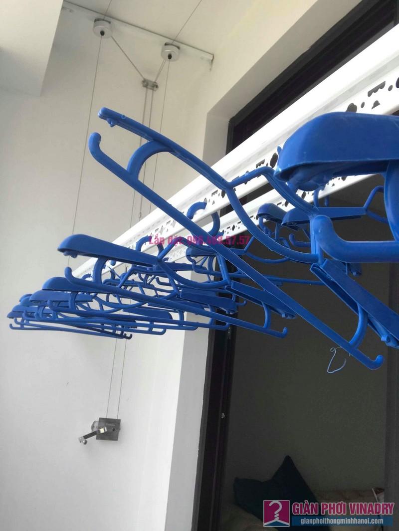 Lắp giàn phơi thông minh nhập khẩu nhà chị Thanh, Tòa T6, Times City - 08