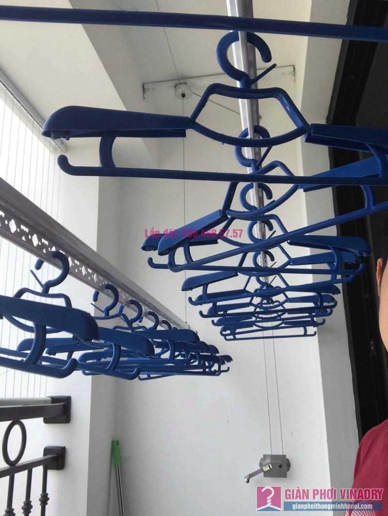 Lắp giàn phơi thông minh nhập khẩu nhà chị Thanh, Tòa T6, Times City - 09