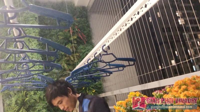 Lắp giàn phơi quần áo nhà anh Tài, tòa A3 chung cư Vinhomes Gardenia, Hà Nội - 03